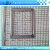 構築のためのひだを付けられた網の正方形の金網