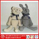 Brinquedo de crochê feito à mão com oferta quente para presente para promoção do bebê