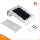 Impermeable al aire libre del sensor de movimiento 24LEDs accionado solar de la lámpara del jardín Yard