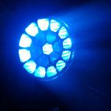 Indicatore luminoso capo mobile della lavata del fascio dell'ape della discoteca 19PCS 12W LED del DJ della fase