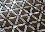 Shell de agua dulce y marmol Mosaico 35*35