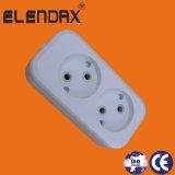 Sans interrupteur, blanc, prise de courant de l'UE (E8005)