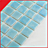 Mosaico blu di vetro del raggruppamento di standard europeo 25*25
