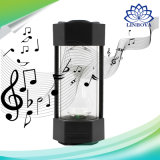 Reloj de arena Multimedia altavoz portátil Bluetooth con luz LED cambia de color