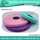 Fita fácil dos PP do adesivo excelente para matérias- primas de guardanapo sanitário