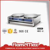 Machine de Crepe de gaz de double plaque (HGC-2B)