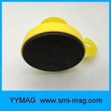 Crisol plástico del neodimio del imán del gancho de leva magnético