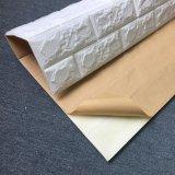Carta da parati della gomma piuma del PE della pietra del mattone della priorità bassa impressa decorazione non tossica