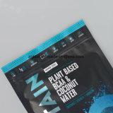 Customziedのアルミニウム物質的印刷されるグラビア印刷を用いるジッパーのポリ袋を立てる