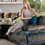 居間の家具G7607Aのための高品質ファブリックが付いている現代デザイン部門別のソファー