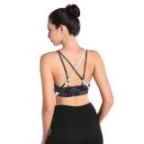 Deporte más pechugón Strappy del soporte del sujetador de la yoga de las mujeres de la manera cómodo