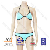 2016 Vente en gros de mode OEM Stock Femmes Girl Sexy Costume de plage Beach Bikini Neoprene Swimming Wear