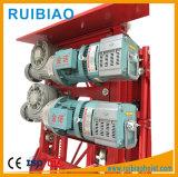 Unità di azionamento del dispositivo di sicurezza della gru della scatola ingranaggi della gru della costruzione