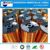 Самый лучший поставщик провода цены ECCA (покрынного эмалью медного одетого алюминиевого провода)