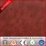 Rexine double canapé en cuir de couleur pour le mobilier en cuir et sellerie