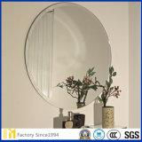 2-6 mm banho livre de cobre/Prata/Espelho de alumínio com pinhões/C/TV Borda Polaco