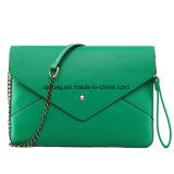 女性党袋のエンベロプのイブニング・バッグPUのクラッチの財布袋
