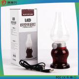 Lâmpada LED de controle de sopro ajustável de brilho para luz de sala de bebê