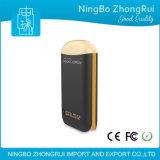Côté portatif duel de pouvoir du cube magique USB chargeur de batterie personnalisé 7800 par heures-milliampère de logo