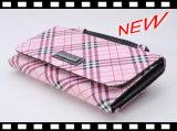 Бумажник руки PU кожаный для бумажников покупкы