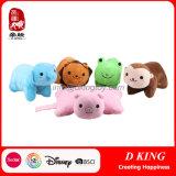 아이 동물에 의하여 채워지는 연약한 아기 견면 벨벳 베개 장난감