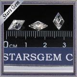주문을 받아서 만들어진 연 모양 Moissanite 순수한 명확성 도매 합성 느슨한 다이아몬드