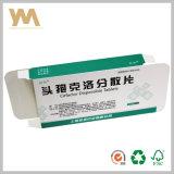Modificar el rectángulo para requisitos particulares de empaquetado para el rectángulo de papel de la medicina