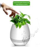 スマートな音楽植木鉢のBluetoothの情報処理機能をもった実質のプラント接触演劇LEDの軽い植木鉢