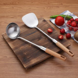 Insiemi dell'utensile della cucina del Turner della siviera del cucchiaio dell'acciaio inossidabile con la maniglia