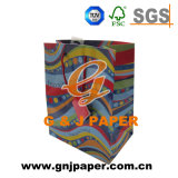 Sac de papier personnalisé de logo de bonne qualité fabriqué en Chine