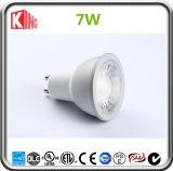 Lamp van de LEIDENE 6000k van de Fabrikant 5000k van China 7W de Lichte GU10 LEIDENE Schijnwerper