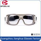 Óculos de proteção anticolisão dos esportes do projeto novo para esportes do basquetebol/futebol