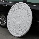 装飾的なポリウレタン軽量PUの天井ローズか円形浮彫りHn023