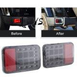Pour Jeep Wrangler Jk LED Tail Rear Back Bumper Light