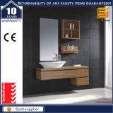 Cabina de madera de los muebles del cuarto de baño de la melamina de las mercancías sanitarias para el europeo