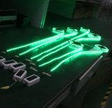 Digital IP20 IP64 IP68 luz de cuerda LED RGB al aire libre, 5050 LED luz de Navidad cuerda con Ce RoHS