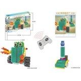 1488724-2 1 Fernsteuerungs-RC Blöcken des warnenden in den Rettungs-Roboter-Block-Installationssatz-Ausbildungs-kreatives Spielzeug 111PCS einstellen - die gelegentliche Farbe