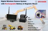 Sistema sem fio da câmera de Digitas com bateria recarregável e a montagem magnética