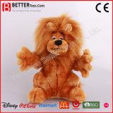 Jouet de lion bourré par peluche d'animal sauvage d'ASTM