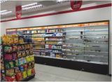 Congelador comercial da forma ereta para o supermercado