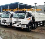 中国FAW 8X4の頑丈なダンプかダンプカートラック