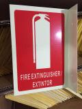 Пвх огнетушитель знак