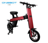 Venda quente Onebot Mini Cidade eléctricos rebatíveis Bike com estrutura em liga de alumínio e Dianteira&Amortecedor Duplo Traseiro