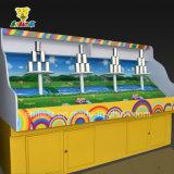 Bolsa de arena que lanza que arruina la cabina de los juegos del carnaval del parque de atracciones del crisol