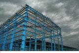 Edificio de acero del taller de la fábrica del bajo costo