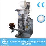 Máquina de embalagem vertical automática do saco de chá da forma redonda