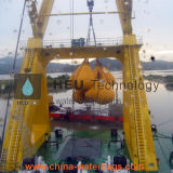 Prova Crane & Derrick cheio de água de teste de carga Saco de peso
