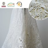 Ineinander greifen-empfindliches Spitze-Gewebe, Swiss&Africa Frauen-Kleid E20031