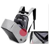 Roubo de notebook unissexo Saco mochila porta USB do PC do computador de negócios Saco de viagem