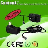 4 Kanal H. 264 Kamera-Installationssätze PLC-NVR u. IP